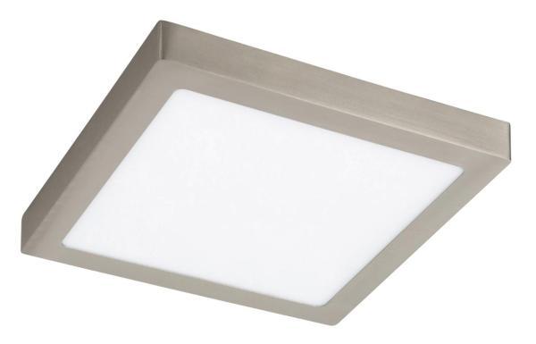 LED Deckenleuchte chrom 24W Lois Metall/Kunststoff 3000K warmweiß 1700lm
