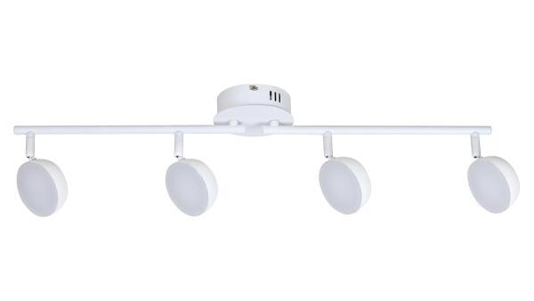 LED Deckenleuchte matt weiss LED-Board 4X4W A+ 2700-5000K 4X350lm IP20