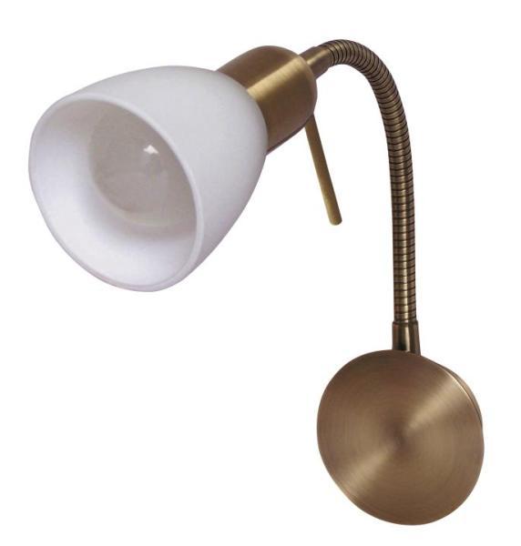 Deckenleuchte weiß Soma bronze E14
