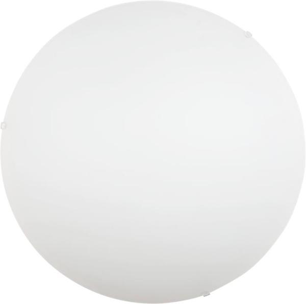 Klassische Deckenleuchte weiß 2xE27