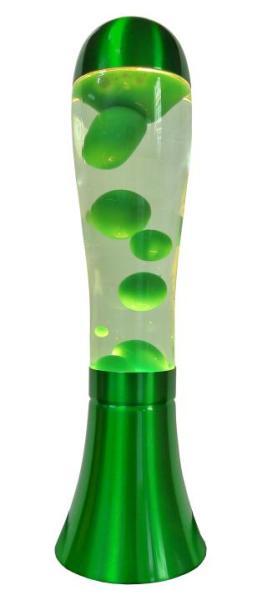 Lavalampe UKA Retro grün 42 cm