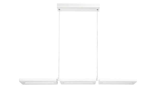 LED Pendelleuchte matt weiss LED-Board 48W A 3000K 2800lm IP20