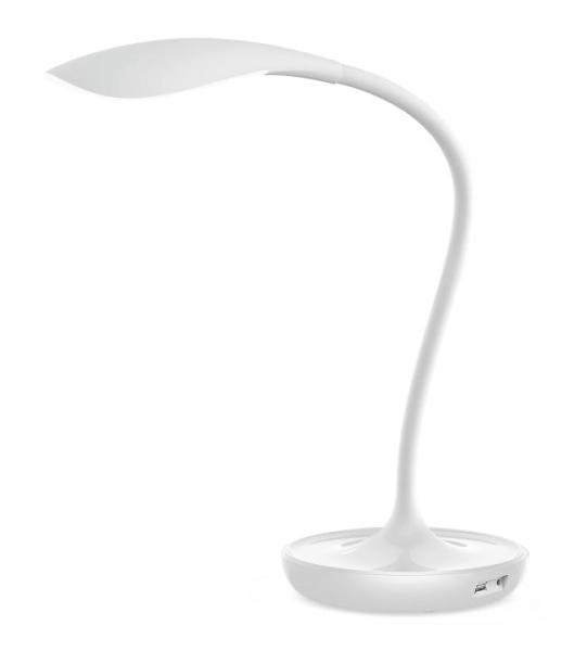 Belmont, LED Tischleuchte, 5W, Weiß