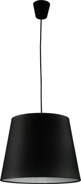MAJA Pendelleuchte schwarz 1-flammig E27 60W
