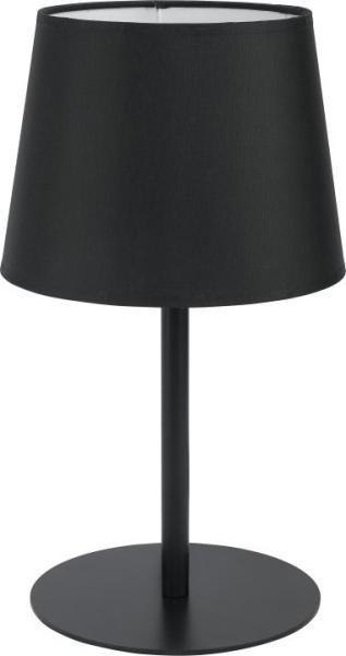 MAJA Tischleuchte schwarz 1-flammig E27 60W