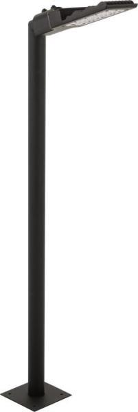 PATHWAY Wegeleuchte modern Metall/Kunststoff schwarz Außenleuchte Standleuchte Pollerleuchte LED-Boa
