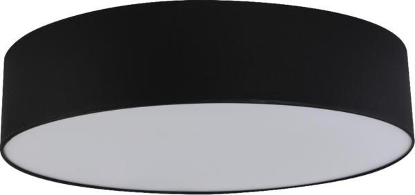 Deckenleuchte RONDO schwarz aus Stoff/Metall/PVC Ø610mm