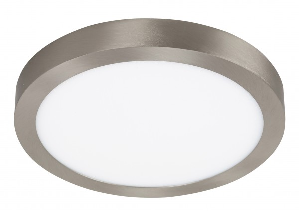 LED Deckenleuchte LOIS in chrom warmweiß Ø300mm