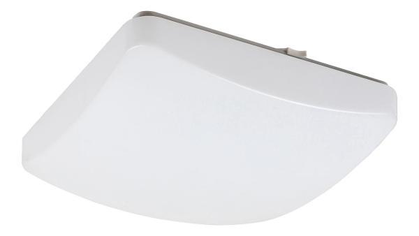 Deckenleuchte IGOR weiß mit LED-Board quadratisch 300mm
