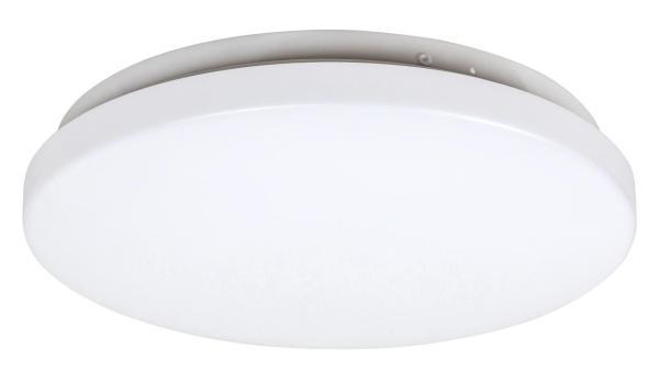 LED Deckenleuchte ROB in weiß warmweiß in rund Ø290mm