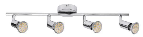 LED Deckenleuchte 3W 220lm 4 flammig warmweiß 3000K