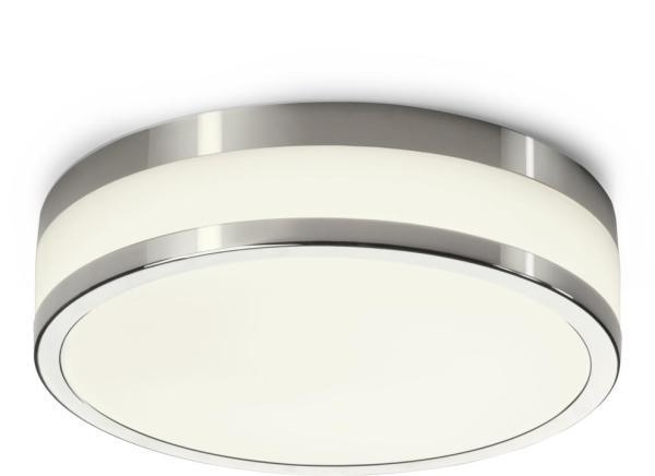 LED Deckenleuchte 18W 940lm chrom neutralweiß 4000K