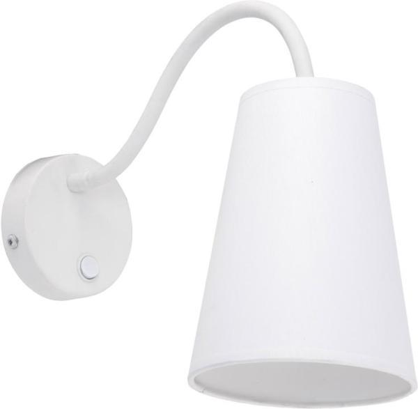 WIRE WHITE Wandleuchte weiß 1-flammig E27 60W