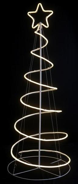LED-Weihnachtsbaum Spirale