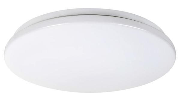 Deckenleuchte EMMETT weiß mit LED-Board rund Ø340mm