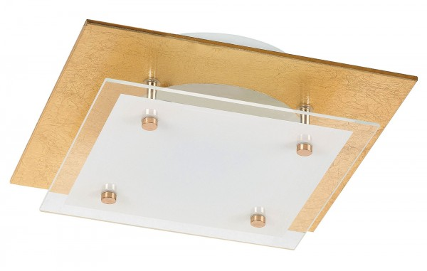 LED Deckenleuchte 12W 960lm gold warmweiß 3000K June