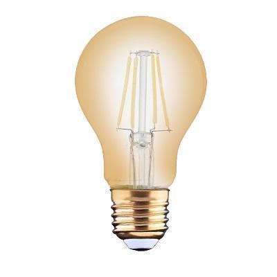 Filament Leuchtmittel E27 gold 4W 2200K warmweiß