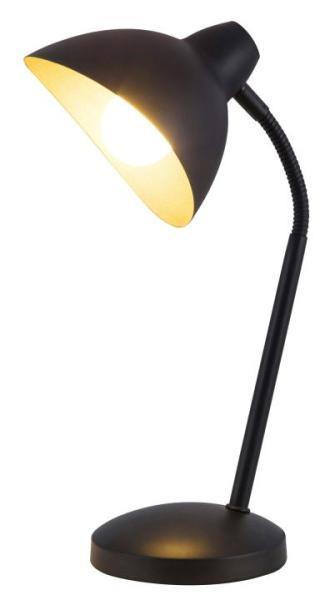 Schreibtischlampe schwarz-gold Theodor