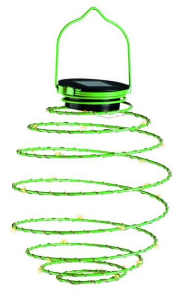 LED Mini-Solar-Spirale grün