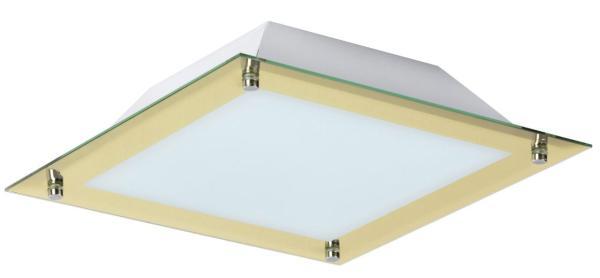 LED Deckenleuchte 12W 960lm gold warmweiß 3000K