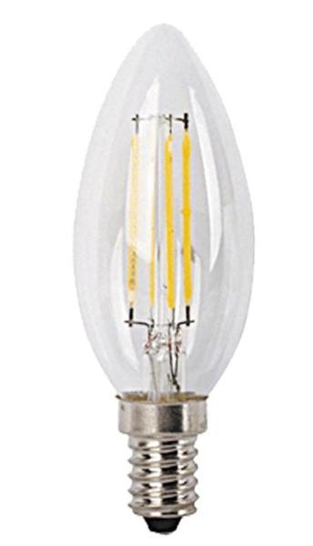LED Filament Leuchtmittel E14 4W 2700K warmweiß