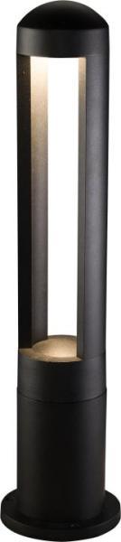 MONTERREY Wegeleuchte modern Aluminium schwarz Außenleuchte Standleuchte Pollerleuchte LED-Board 9W