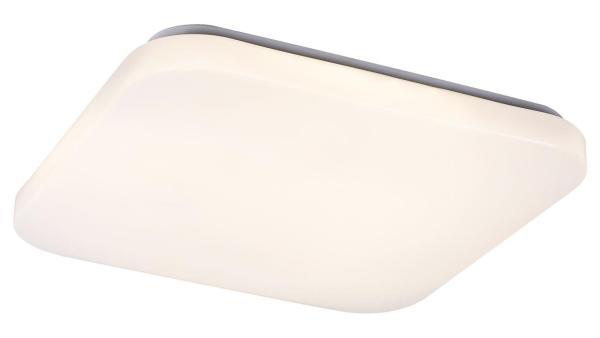 Deckenleuchte EMMETT weiß mit LED-Board quadratisch 300mm