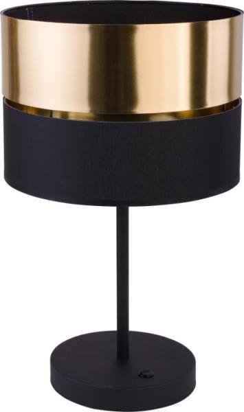 Tischleuchte Hilton schwarz-gold