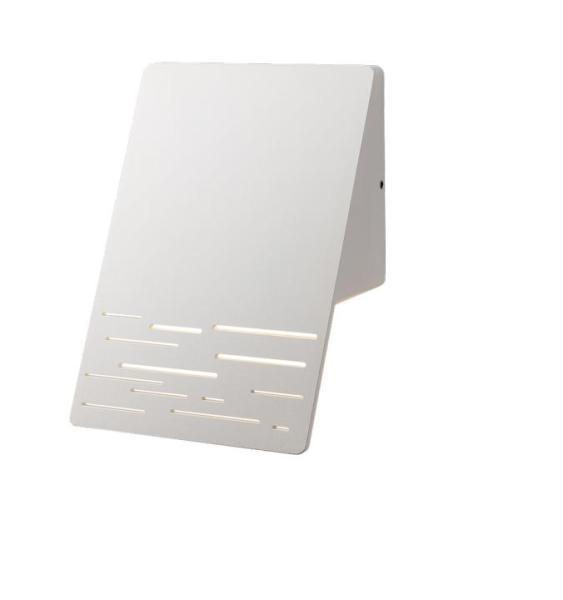 Außenwandleuchte LED Aluminium-Druckguss/Glas dunkelgrau