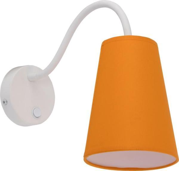 Kinderzimmerlampe WIRE COLOUR Wandleuchte orange