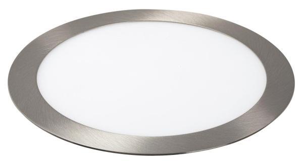 LED Einbauleuchte LOIS in chrom warmweiß Ø225mm