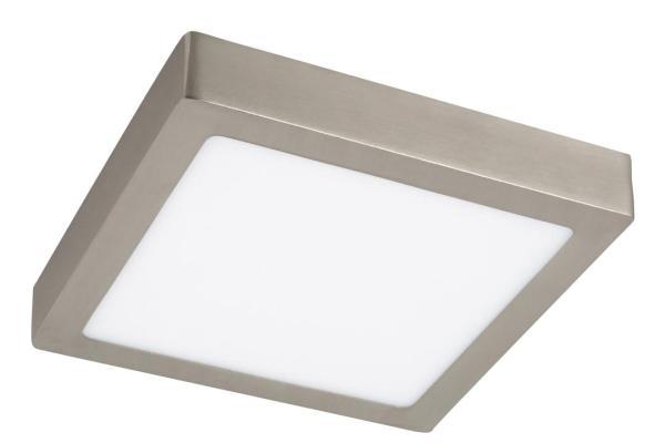 LED Deckenleuchte chrom 18W Lois Metall/Kunststoff 3000K warmweiß 1400lm