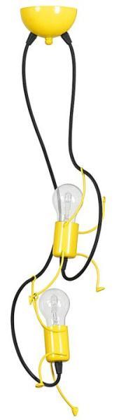 Kinderzimmerlampe Decke BOBBY 2 flammig E27