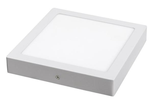 LED Deckenleuchte weiß 18W Lois Metall/Kunststoff 4000K naturalweiß 1400lm