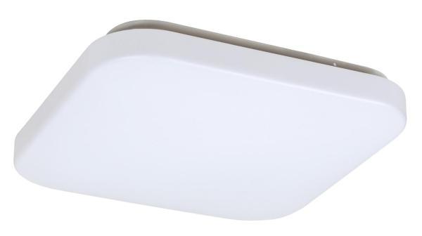 LED Deckenleuchte ROB in weiß warmweiß quadratisch 290mm