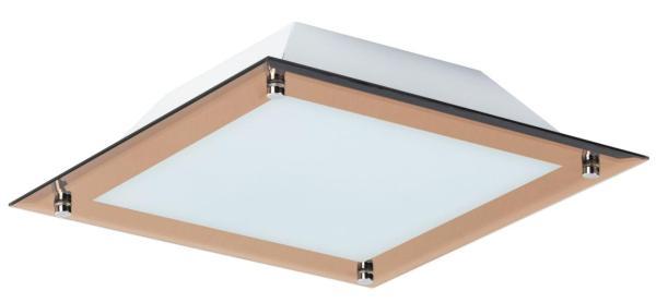 LED Deckenleuchte 12W 960lm rotgold warmweiß 3000K