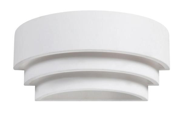 Wandleuchte weiß aus Metall Mathis E14