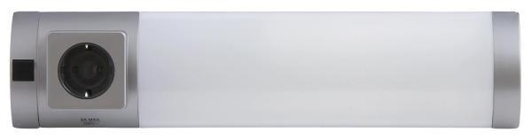 Unterbauleuchte Küche warmweiß mit Steckdose Soft 11W
